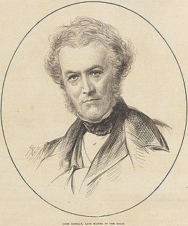 John Romilly, 1st Baron Romilly English Whig politician and judge