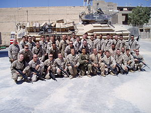 Platoon - Platoon of Marines of the United States Marine Corps.