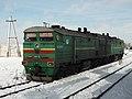 2ТЭ10М-1255, Казахстан, Карагандинская область, станция Распорядительная (Trainpix 108526).jpg