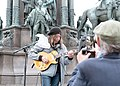 2-Meter-Abstand Demo für Kunst und Kultur Wien 2020-05-29 33 Harri Stojka.jpg