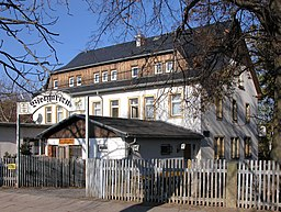 Poisenwaldstraße in Rabenau