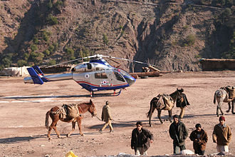 Luxembourg Air Rescue - Humanitarian mission in Pakistan