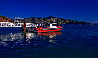 Fireboat Tiburon