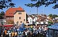 2007 09 23 Neuhemsbacher Kerwe mit Kerweredner.jpg