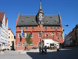 Ochsenfurt - Townhall in Ochsenfurt