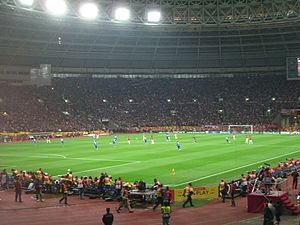 2008 UEFA Champions League Final - Manchester United in possession