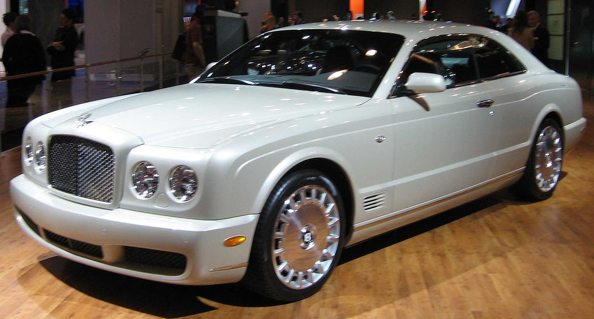 Bentley Continental Dimensions >> Bentley Brooklands Coupé - Wikipedia