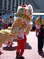 2008 Olympic Torch Relay in SF - Lion dance 49.JPG