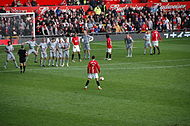 2009-3-14 ManUtd vs LFC Ronaldo Freekick Back.JPG