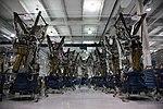 2009 Nine Merlin Engines In Space X Headquarters.jpg