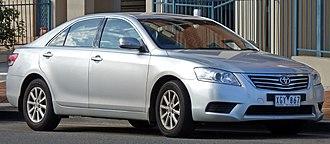 Toyota Aurion - Image: 2009 Toyota Aurion (GSV40R MY10) AT X sedan (2010 07 25)