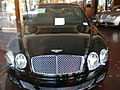 2009 black Bentley Continental Flying Spur Speed front.JPG