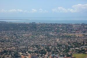 Timeline of Maputo - Aerial view of Maputo, 2010