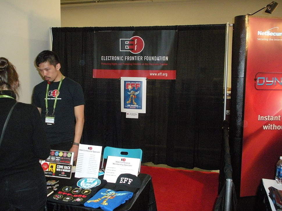 2010 RSA Conference - EFF booth