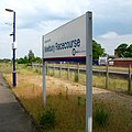 2010 at Newbury Racecourse station - station sign.jpg