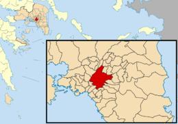 Atene – Mappa