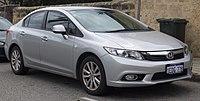 2013 Honda Civic (FB2 MY13) VTi-L sedan (2018-10-01) 01.jpg