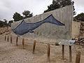 2014-07-28 12 58 04 Ichthyosaur diagram at the fossil shelter in Berlin–Ichthyosaur State Park, Nevada.JPG