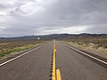 2014-08-11 13 16 43 View west along U.S. Route 50 about 1.1 miles east of the Eureka County line in White Pine County, Nevada.JPG