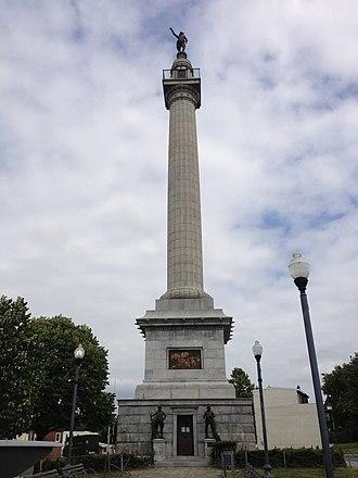 Trenton Battle Monument - Image: 2014 08 30 11 15 50 The Trenton Battle Monument in Trenton, New Jersey