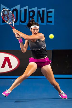 Ajla Tomljanović - Tomljanović at the 2014 Australian Open