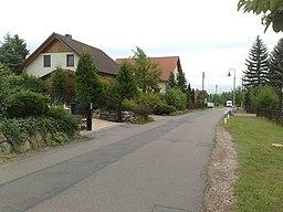 Maxim-Gorki-Straße in Wilsdruff