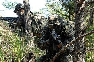 Republic of Korea Army Special Warfare Command - Image: 2015.6.3 육군 특수전사령부 산악극복훈련 Mountain Field Exercise, Republic of Korea Army Special Warfare Command (19102616971)