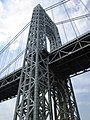2015 George Washington Bridge east tower from south.jpg