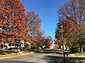 2016-11-18 11 45 13 View north along Dairy Lou Drive at Franklin Farm Road in the Franklin Farm section of Oak Hill, Fairfax County, Virginia during autumn.jpg
