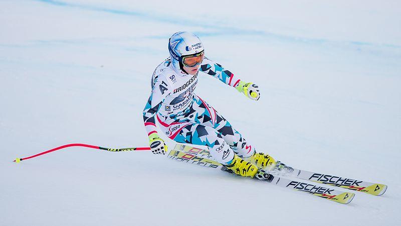 File:2017 Audi FIS Ski Weltcup Garmisch-Partenkirchen Damen - Nicole Schmidhofer - by 2eight - 8SC8726.jpg