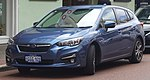 2017 Subaru Impreza (GT7) 2.0i-L hatchback (2018-09-17) 01.jpg