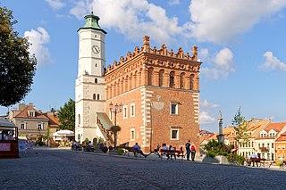 Sandomierz Town in Świętokrzyskie Voivodeship, Poland
