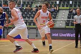 20180913 FIBA EM 2021 Pre-Qualifiers Austria vs. Cyprus Lanegger Mahalbašić 850 5797.jpg