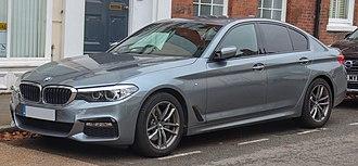 BMW 5 Series (G30) - 2018 BMW 520d M Sport Automatic 2.0