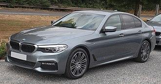 E-segment - Image: 2018 BMW 520d x Drive M Sport Automatic 2.0 Front