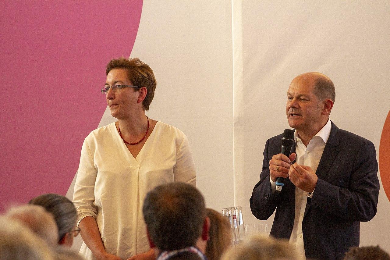 2019-09-10 SPD Regionalkonferenz Team Geywitz Scholz by OlafKosinsky MG 2562.jpg