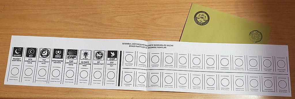 2019 İstanbul mayoral election ballot (1)
