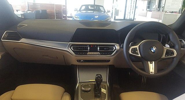 File 2019 Bmw 320d Xdrive M Sport 2 0 Interior Jpg