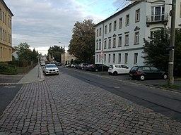 Warthaer Straße in Dresden