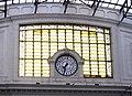 21 Estació de França, rellotge del pati d'andanes.JPG