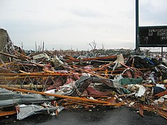 Catastrophic damage in Joplin