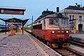 242 251-7, Чехия, Южночешский край, станция Ческе-Будеёвице (Trainpix 118562).jpg
