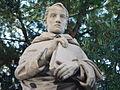 2899 - Catania - Cattedrale - Beato s. Bernardo - Statua 800sca nella ''Floretta'' (giardino) - Foto Giovanni Dall'Orto, 1-Oct-2006.jpg