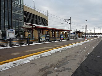 28th Avenue station - 28th Avenue station in 2015