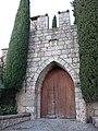 298 Monestir de Montserrat, portal est del recinte.JPG