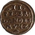 2 Pfennige, Landesdenkmalamt Berlin, Ausgrabung U5, 775 – 1455, Vorderseite.jpg