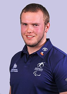 Lindsay Sutton Australian male athletics Paralympian