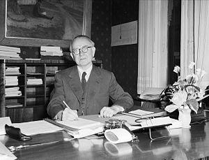 Birger Bergersen - Birger Bergersen in December 1953