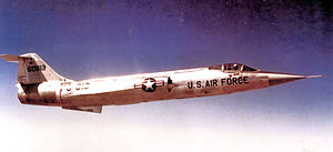 337th Flight Test Squadron - Image: 337th Fighter Interceptor Squadron F 104 56 813