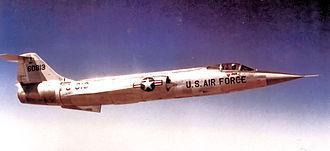 337th Flight Test Squadron - 337th Fighter-Interceptor Squadron Lockheed F-104 Starfighter